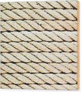 Rope Wood Print