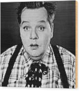 Roscoe Fatty Arbuckle Wood Print