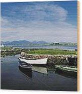 Roundstone, Connemara, Co Galway Wood Print