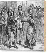 Salem Witch Trial, 1692 Wood Print