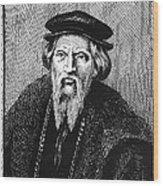 Sebastian Cabot Wood Print