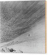 Sedan Crater, Nevada Test Site Wood Print