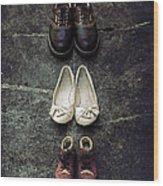 Shoes Wood Print