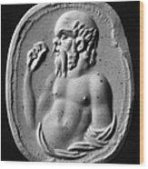 Socrates (470?-399 B.c.) Wood Print