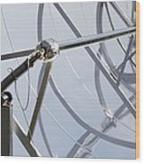 Solar Parabolic Mirrors, Cologne, Germany Wood Print