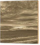 Southbourne Beach Wood Print