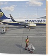 Stansted Airport Wood Print