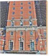 Statler Towers Wood Print