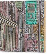 Streets Of Bel Air Wood Print