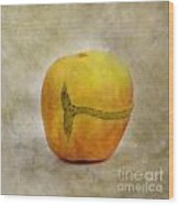 Textured Apple Wood Print