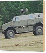 The Dingo 2 In Use By The Belgian Army Wood Print