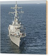 The Guided-missile Destroyer Uss Laboon Wood Print
