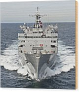 The Military Sealift Command Fast Wood Print