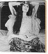 Theda Bara (1885-1955) Wood Print by Granger