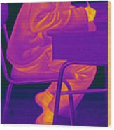 Thermography Wood Print
