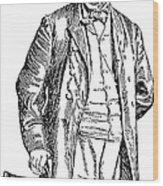 Thomas Darcy Mcgee Wood Print