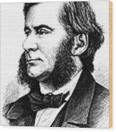 Thomas Huxley, English Biologist Wood Print