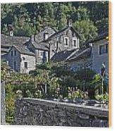 Ticino Wood Print