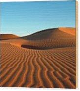 Ubari Sand Sea, Libya Wood Print