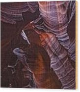 Upper Antelope Canyon, Arizona Wood Print