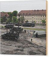U.s. Soldiers Teach The Polish Military Wood Print
