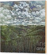 Vail Vista Wood Print