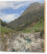 Valle Verzasca - Ticino Wood Print