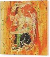 Vizi E Virtu Wood Print