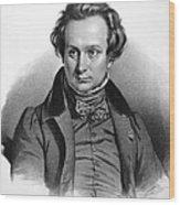 Victor Hugo (1802-1885) Wood Print