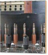 Vintage Telephone Switchboard Wood Print