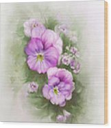 Viola Wood Print