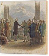 Washington: Inauguration Wood Print by Granger