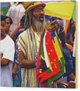 West Indian Day Parade Brooklyn Ny Wood Print