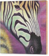Wild Thing Wood Print by Tammy Olson