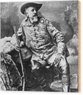 William F. Cody (1846-1917) Wood Print