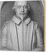William Shakespeare Wood Print