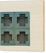 Windows Wood Print