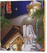 Wonderful Christmas Still Life Wood Print