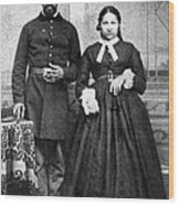 Civil War: Black Troops Wood Print