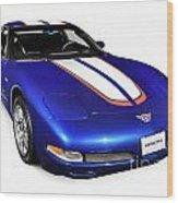2004 Chevrolet Corvette C5 Wood Print