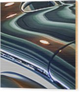 2006 Speedster Motorcars Custom Zephyr Replica Rear Body Wood Print
