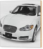 2009 Jaguar Xf Luxury Car Wood Print