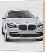 2010 Bmw 760li Individual Luxury Sedan Wood Print