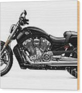 2010 Harley-davidson Vrsc V-rod Muscle Wood Print