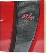 2012 Dodge Charger Rt  Wood Print
