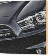 2012 Dodge Charger Srt8 Wood Print