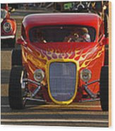 2012 Grants Pass Cruise - Hot Rod Rules Wood Print