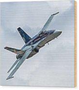 2012 Rcaf Hornet Demo Wood Print