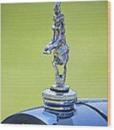 2012 Santarsiero Atlantis Concept Hood Ornament Wood Print