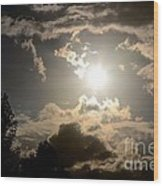 2012 Sunset October 26 Wood Print